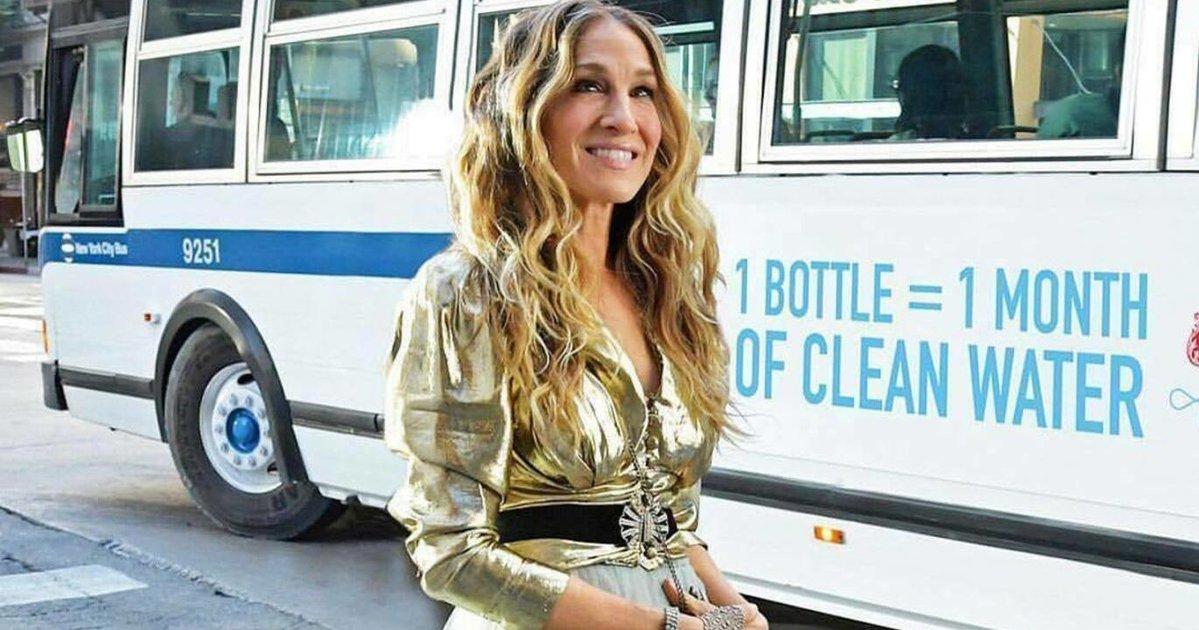 Снова Кэрри: 53-летняя Сара Джессика Паркер в белье на улицах Нью-Йорка
