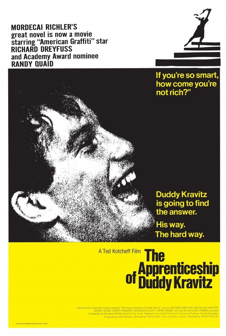 the sympathy in the novel the apprenticeship of duddy kravitz