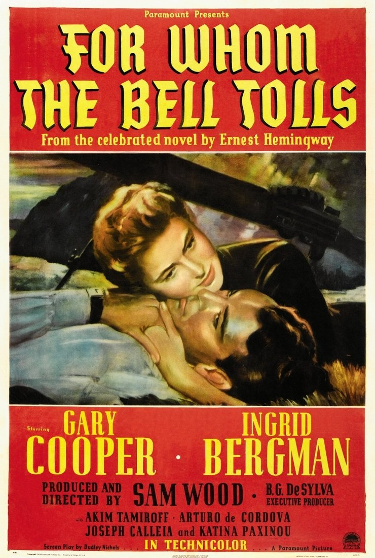 wars effects on man and the importance of time in for whom the bell tolls