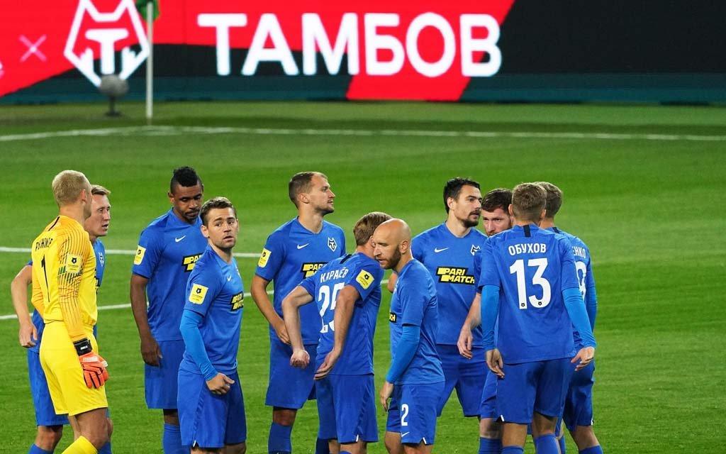 Отстраненные футболисты «Тамбова» Еркин и Герман вернулись к тренировкам