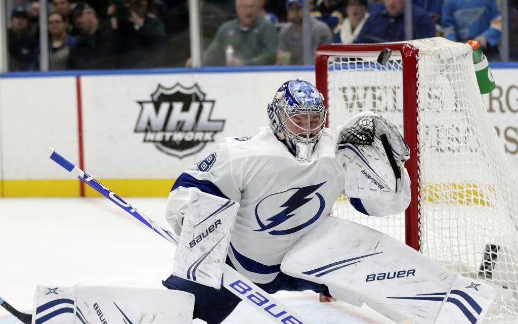 Российский вратарь установил историческое достижение в НХЛ