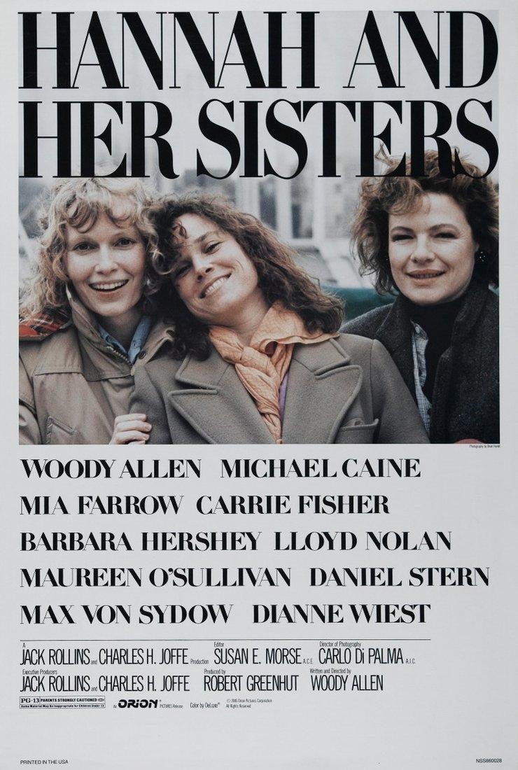 Ханна и ее сестры 1986