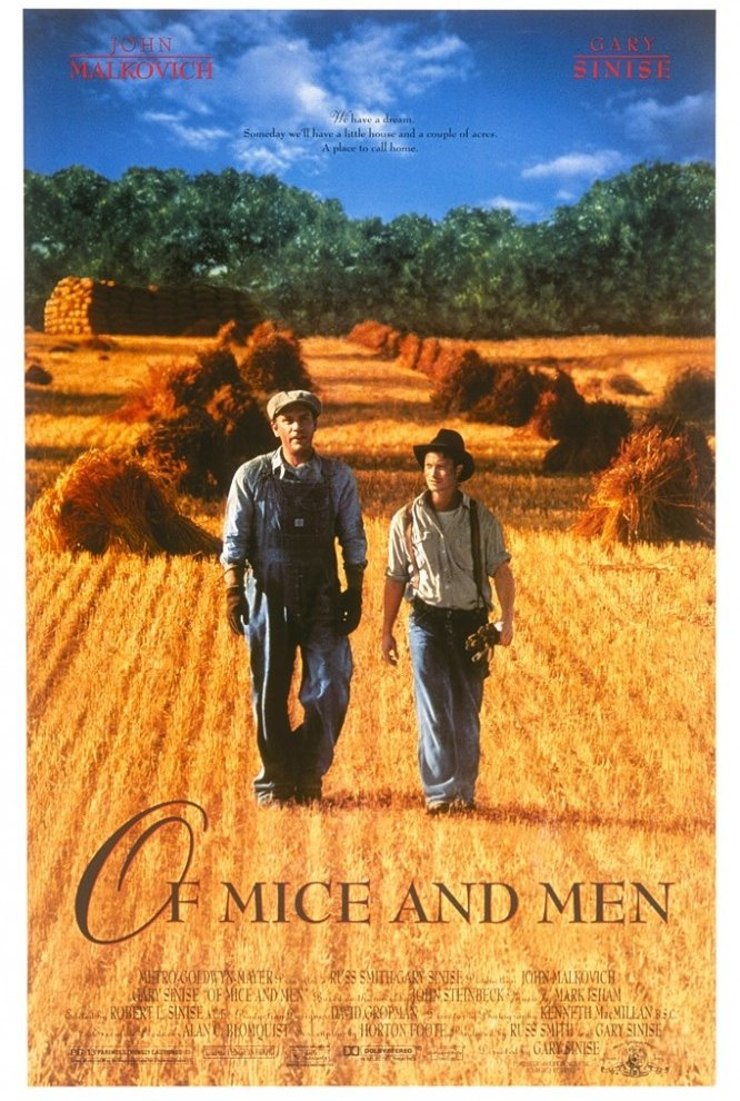 the tragic end of aspirations and dreams in the novel of mice and men by john steinbeck
