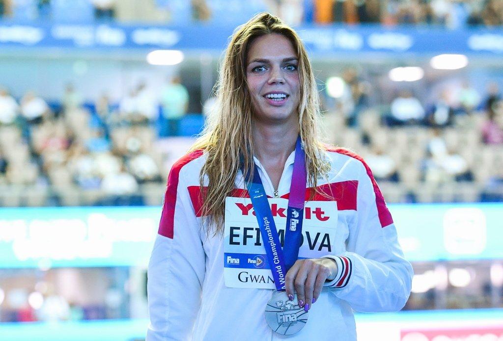 Ефимова не смогла отобраться на Олимпиаду на дистанции 200 м брассом