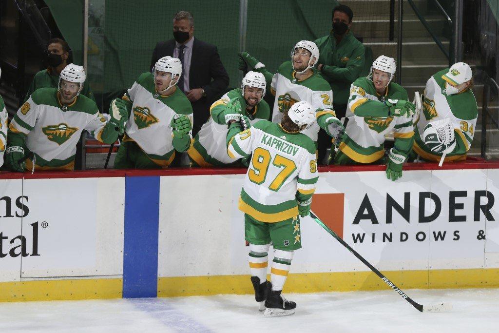 «Миннесота» обыграла «Вегас» в матче НХЛ. Капризов отличился в третьей игре подряд