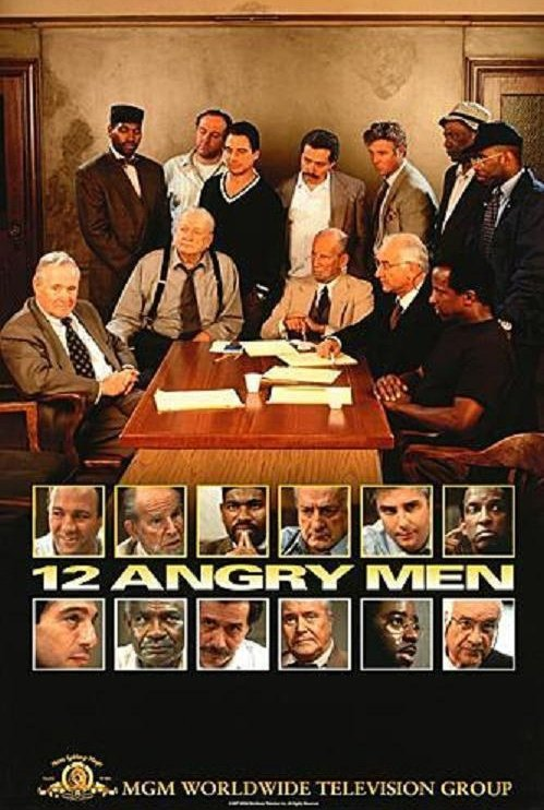 groupthink in 12 angry men Groupthink happens most often when the group is already cohesive for an enjoyable example, watch the movie 'twelve angry men'.