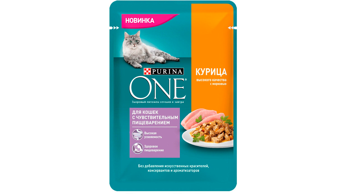 Purina One для чувствительного пищеварения