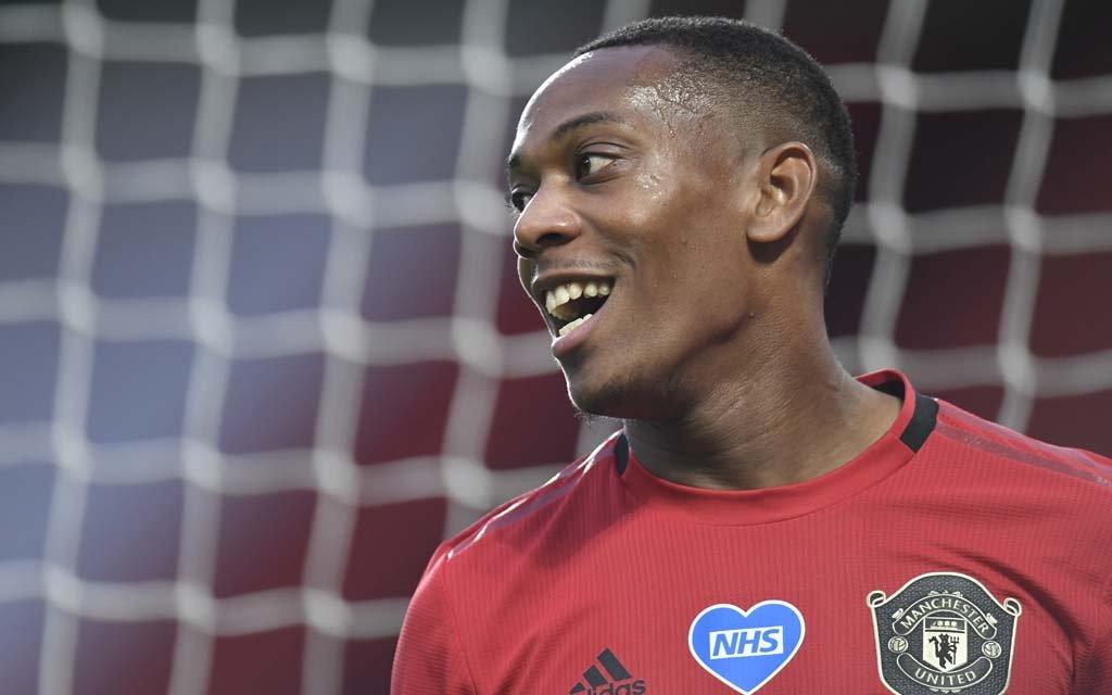L'Equipe: Марсьяль возобновляет тренировки и может быть доступен после игры с «Астон Виллой»