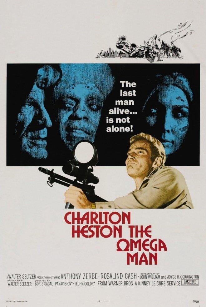 Человек Омега (The Omega Man, 1971) смотреть онлайн в HD ... Линкольн Фильм Актеры