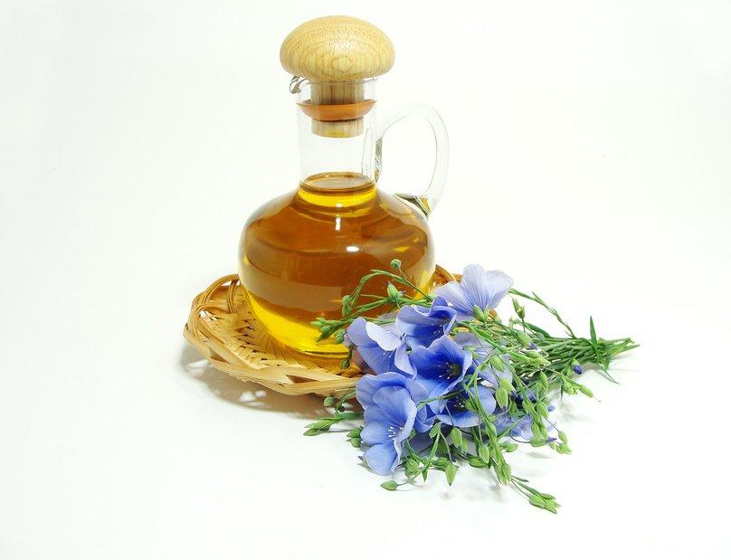 Фото продукта масло льняное