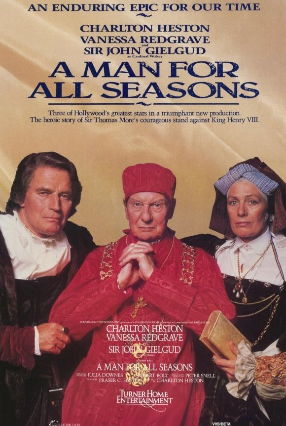 a man for all seasons thomas Watch full movie online a man for all seasons (1966) for free the story of thomas more, who stood up to king henry viii when the king rejected the roman catholic church to obtain a divorce and remarriage.