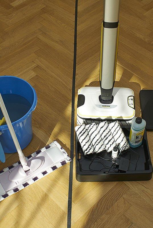 Современная электрошвабра против обычной швабры: честный тест-драйв