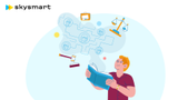 Акция с онлайн-школой Skysmart (шаринг)